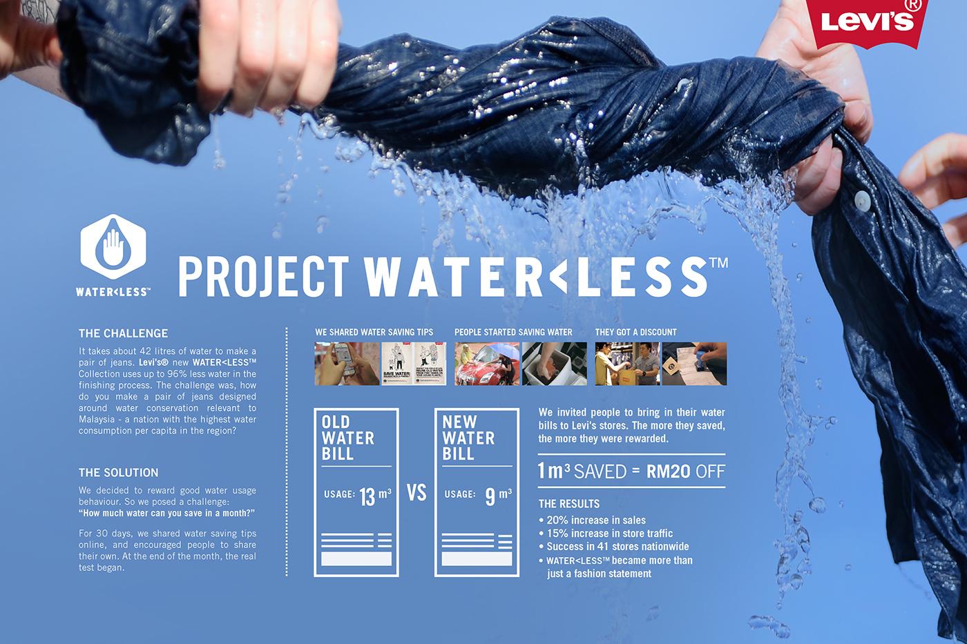 """Dự án """"Water less"""" của Levi's hướng đến thời trang bền vững"""