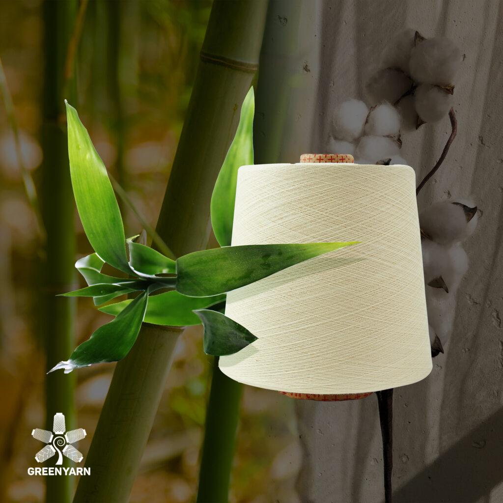 Sợi Bamboo pha Cotton
